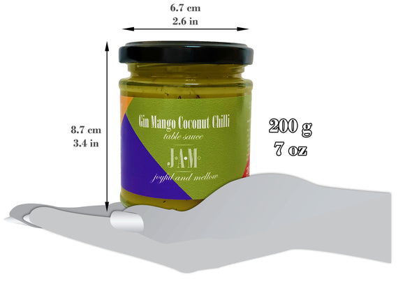 Gin Mango Coconut Chilli Table Sauce (200g ~ 7oz)
