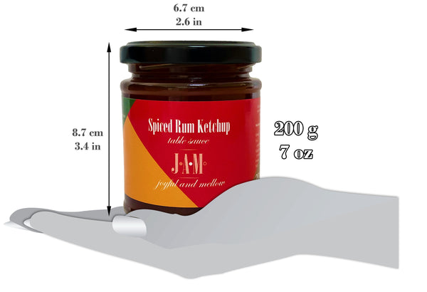 Spiced Rum Ketchup Table Sauce (200g ~ 7oz)