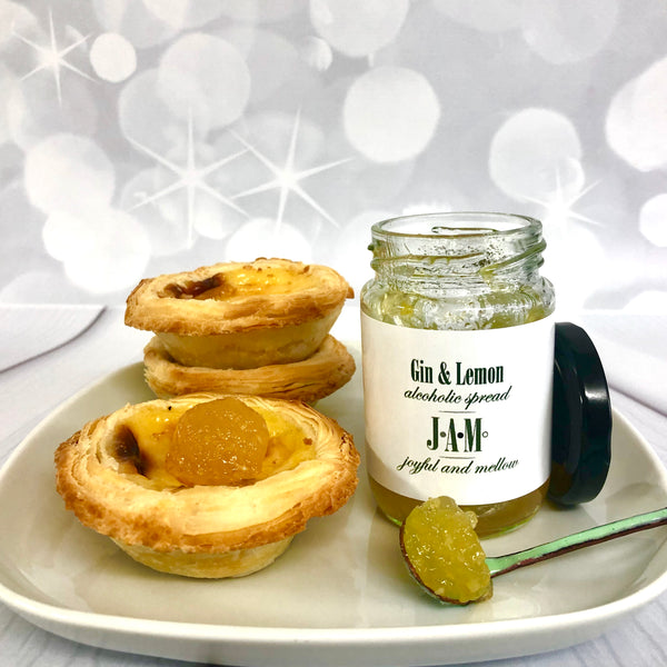 Lemon and Gin Jam with Tarts