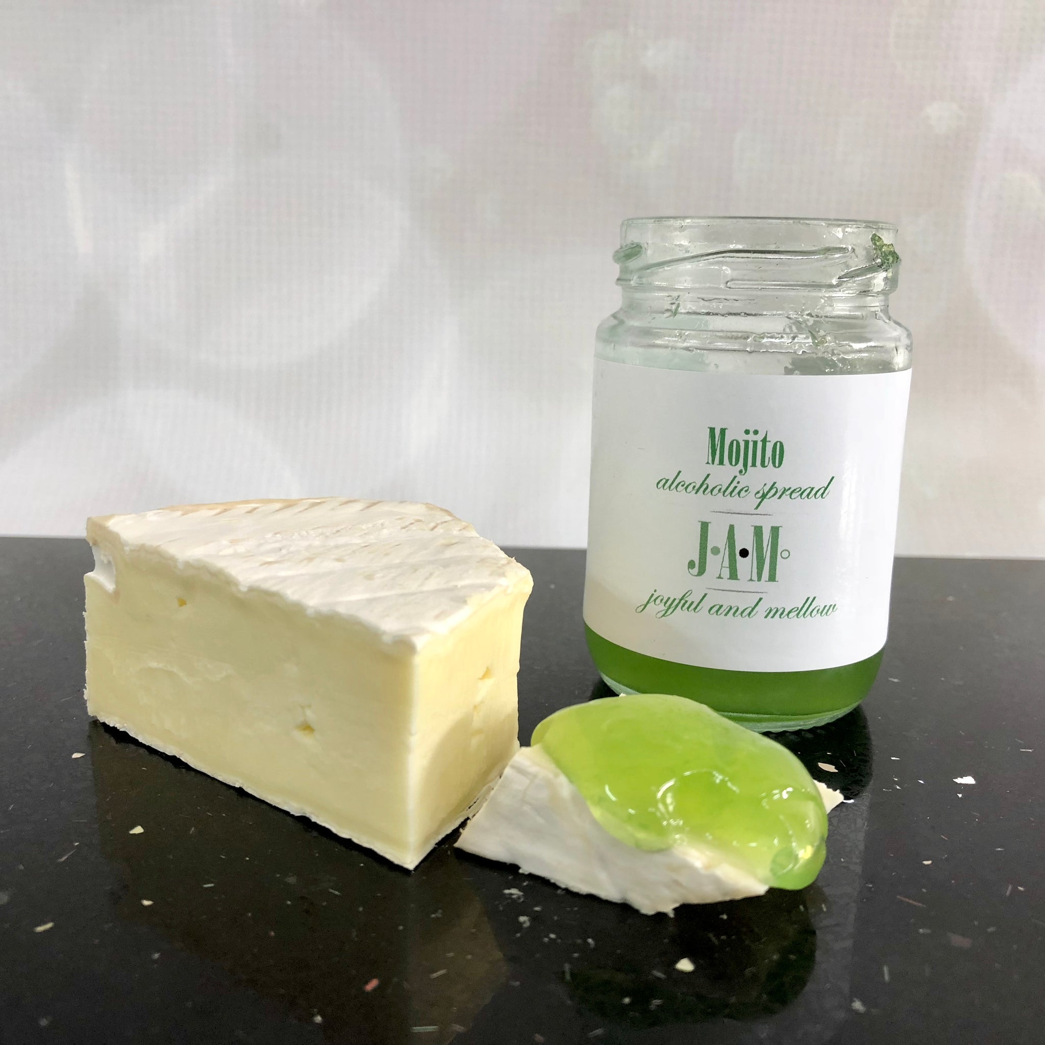 Mojito jam and brie - Cocktail Jam