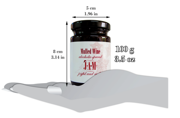 Mulled Wine Alcoholic Spread 100g
