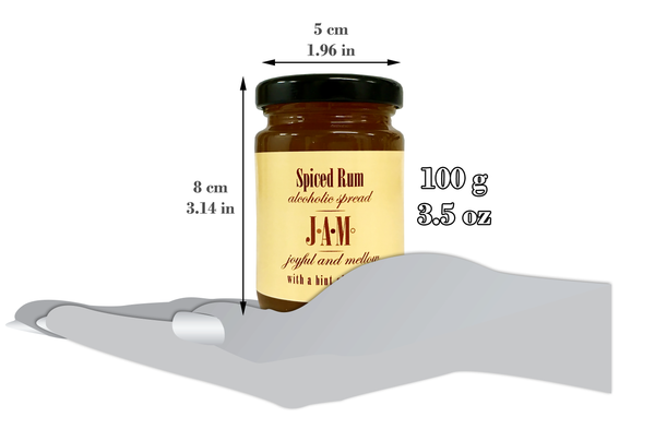 Spiced Rum with a Hint of Ginger Spread 100g