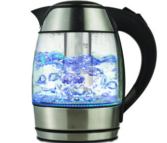 Brentwood Glass Tea Kettle with Tea Infuser