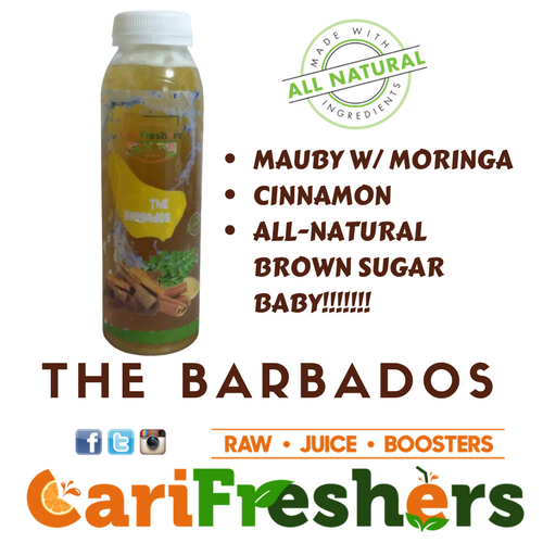Juice - The Barbados- Mauby/Cinnamon/Moriniga - 6pk