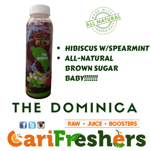 THE DOMINICA- HIBISCUS/MINT - 6PK