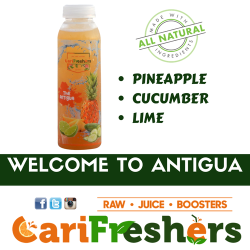 Juice - The Antigua - Pineapple/Cucumber - 6pk