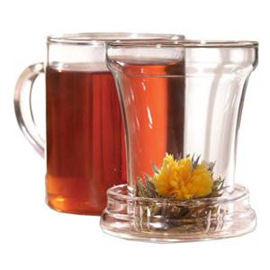 Primula Handblown Glass Tea Maker with Loose Tea Infuser