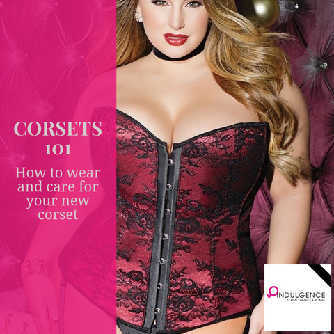 How to put on and care for a corset