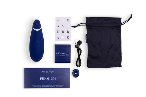Womanizer Premium in Bluberry