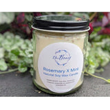 Rosemary & Mint Soy Wax Candle - www.indulgencenaughtyshop.com