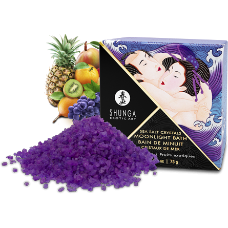 MOONLIGHT BATH SALTS in Exotic Fruit - www.indulgencenaughtyshop.com