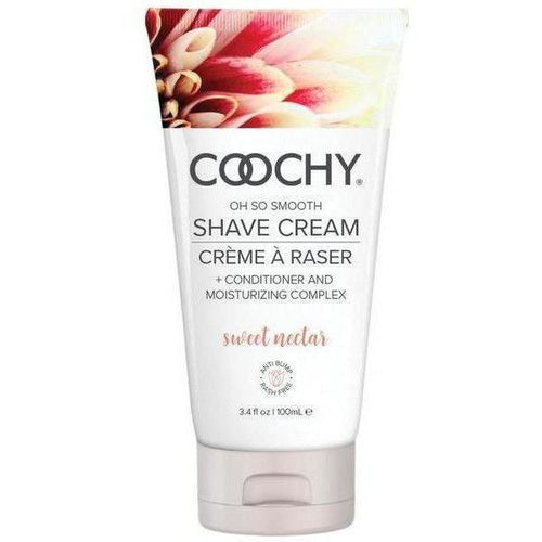 COOCHY SHAVE CREAM in Sweet Nectar - www.indulgencenaughtyshop.com