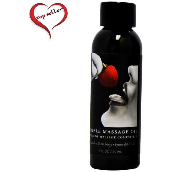 Edible Massage Oil in Cherry Flavor - www.indulgencenaughtyshop.com