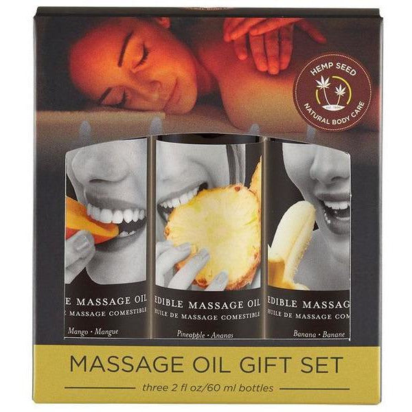 Edible Massage Oil Gift Set