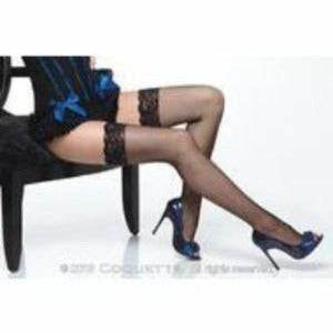Traditional Fishnet Thigh High Stockings - www.indulgencenaughtyshop.com