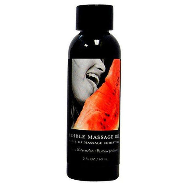 Edible Massage Oil in Watermelon Flavor