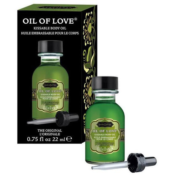 Oil of Love Flavored Warming Oil - www.indulgencenaughtyshop.com