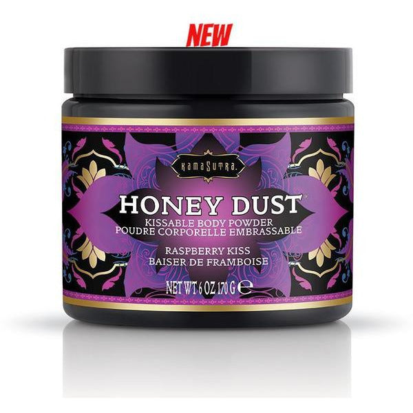 Kama Sutra Honey Dust in Raspberry Kiss - www.indulgencenaughtyshop.com