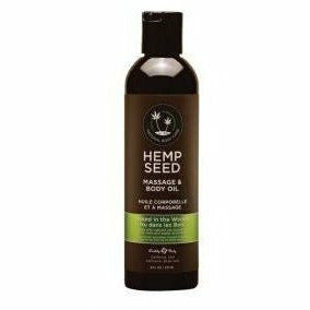 Naked in the Woods Hemp Seed Massage and Body Oil by Earthly Body