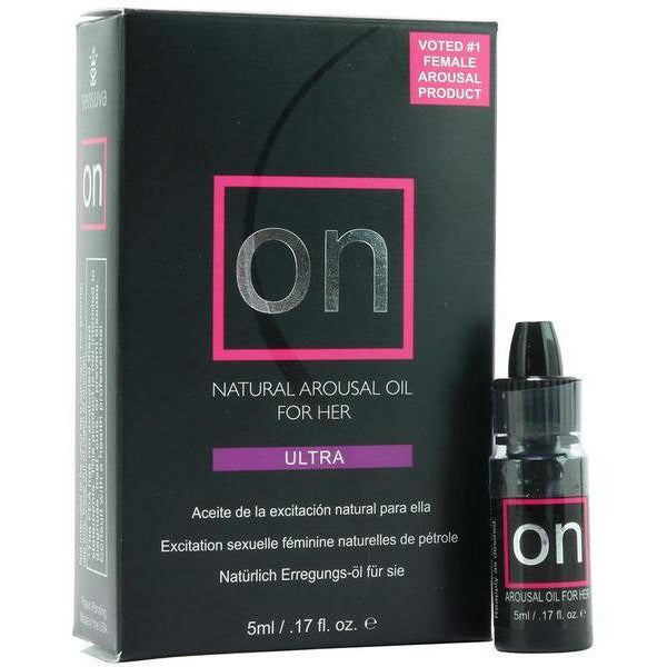 ON Ultra | Natural Arousal Oil for Her - www.indulgencenaughtyshop.com