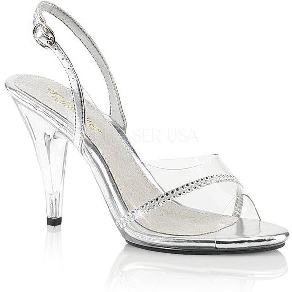 Clear Sling Back Sandal