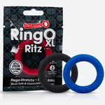 XL Ringo Ritz | Liquid Silicone C-Ring in Blue