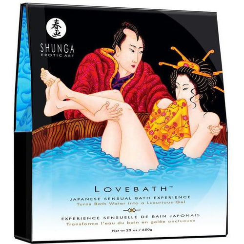 Shunga Love Bath Gel Bead Bath in Ocean Temptation