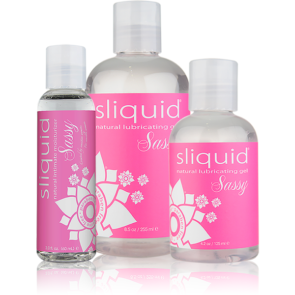 Sliquid Sassy Water Based Gel Lubricant