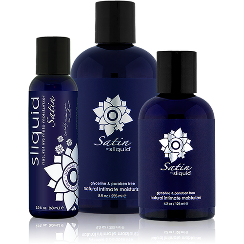 Sliquid Satin Aloe Inused Water Based Lubricant