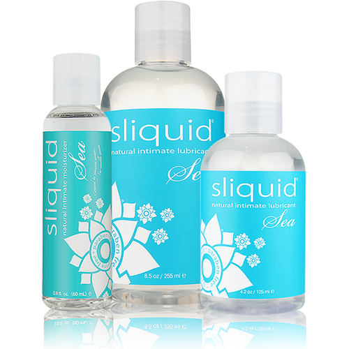 Sliquid Sea Seaweed Enriched Water Based Lubricant