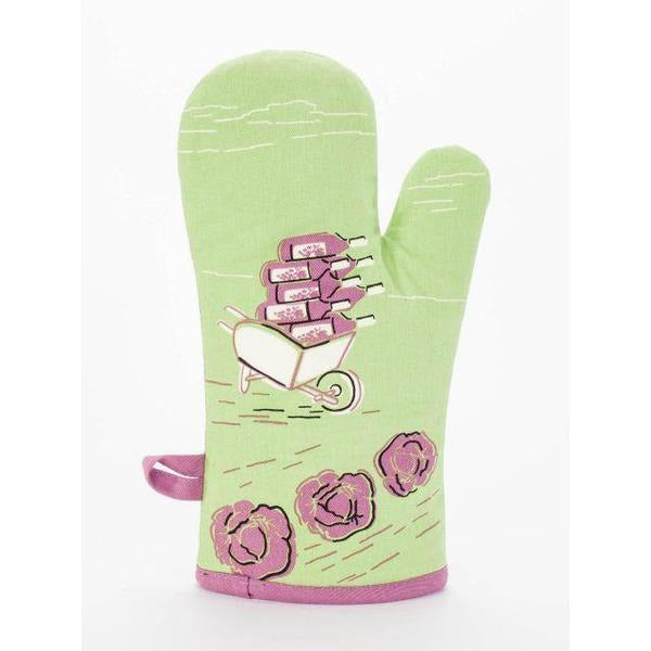 My Favorite Salad is Wine Oven Mitt - www.indulgencenaughtyshop.com