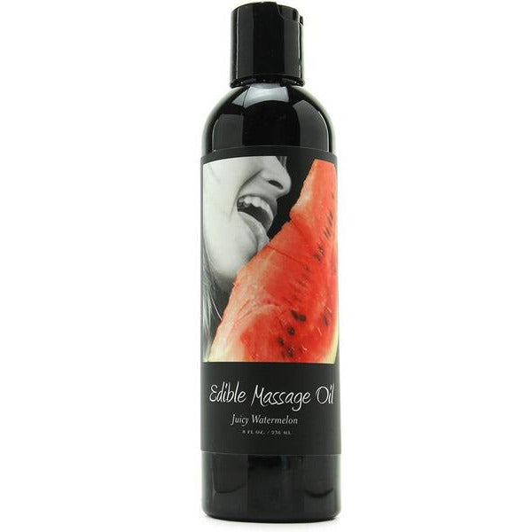 Edible Massage Oil in Watermelon Flavor - www.indulgencenaughtyshop.com