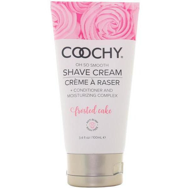 Oh So Smooth Shave Cream Frosted Cake - www.indulgencenaughtyshop.com