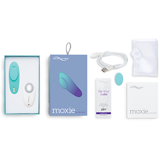 We-Vibe Moxie | Wearable Clitoral Vibrator - www.indulgencenaughtyshop.com