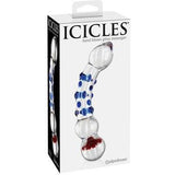 Icicles No. 18 | Double Ended Glass Dildo - www.indulgencenaughtyshop.com