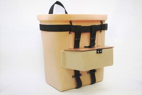 Fiber Tough Packbasket w Compartment 18""