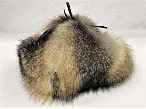 Cross Fox Classy Leather-top Yukon Hat