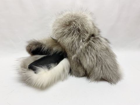 Blue/Grey Mutation Fox Mitts