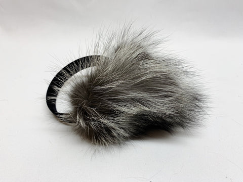 Premium Luxury Collection Earmuffs - Silver Fox