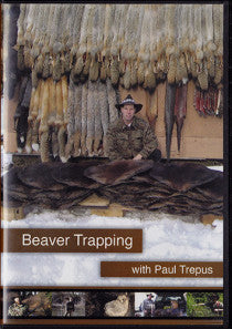 DVD Paul Trepus Beaver Trapping