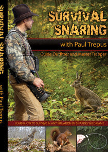 DVD Paul Trepus Survival Snaring