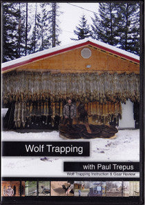 DVD Paul Trepus Wolf Trapping