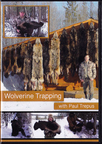 DVD Wolverine Trapping with Paul Trepus