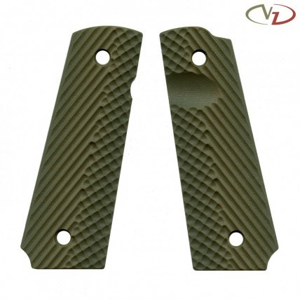 VZ Grips 1911 Operator II, Army Green, Full Size, Standard Profile, Super Scoop, Ambi Safety