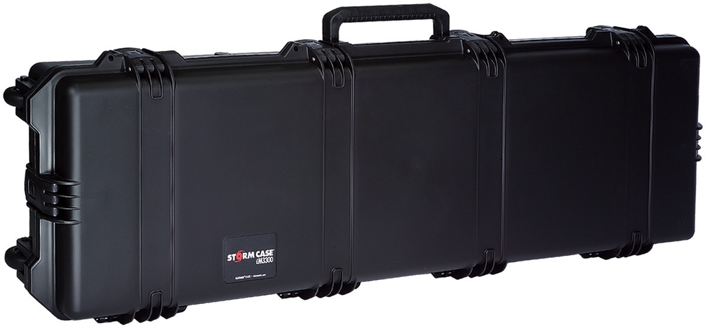 Pelican Storm Case 3300, Mobile Military Field Pack, Black & Black