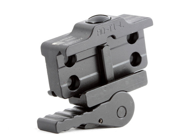 American Defense Aimpoint H1/H2/T1/T2 Low Mount, Black