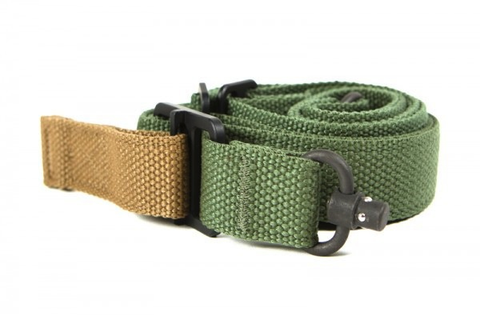 "Blue Force Gear, Vickers 221 Sling, 1.25"" OD Green"