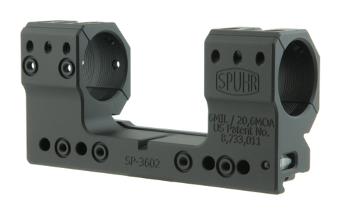 Spuhr ISMS Optic Mount, High, 30mm, 20 MOA