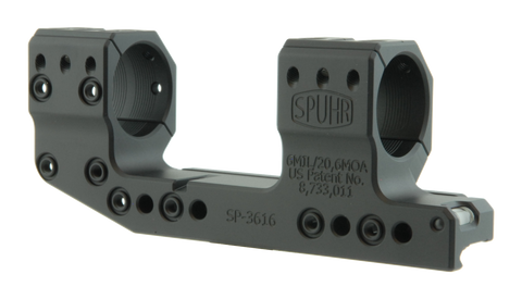 Spuhr ISMS Optic Mount, High, 30mm, 20 MOA, Cantilever