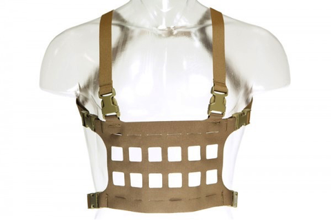Blue Force Gear, Micro Rack Chest Rig, Coyote Brown, Large